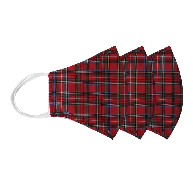 Red Plaid 3Pak