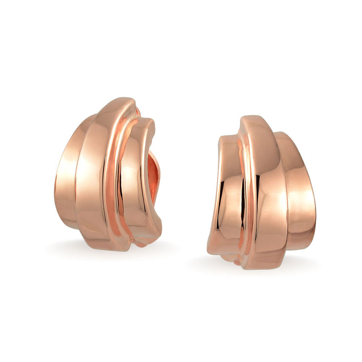 Rose Gold Plated Brass