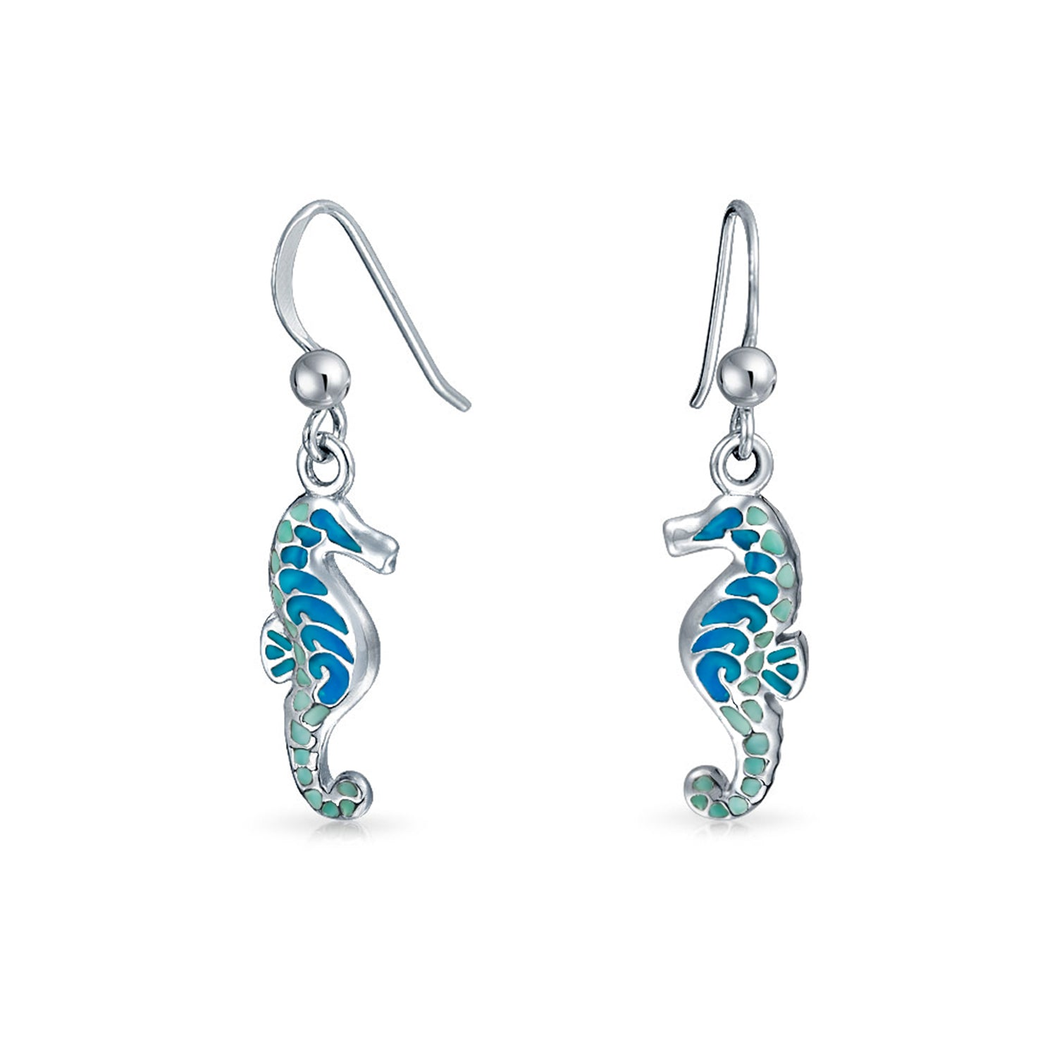 925 Sterling Silver Seahorse Nautical Jewelry *NEW* Cocktail Seahorse Ring