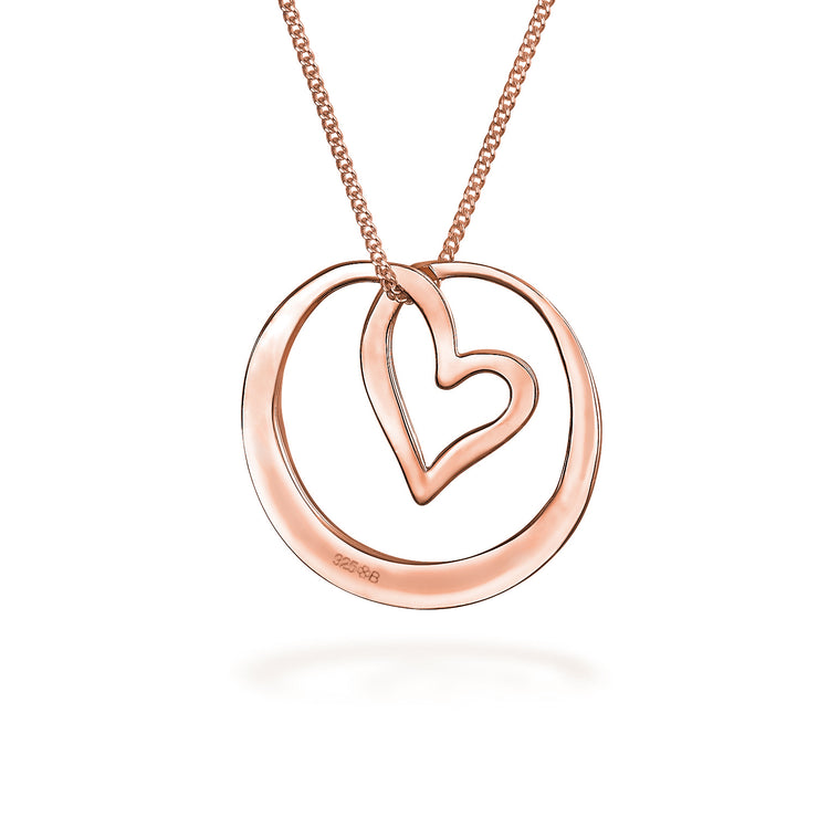 Rose Gold Plated Silver