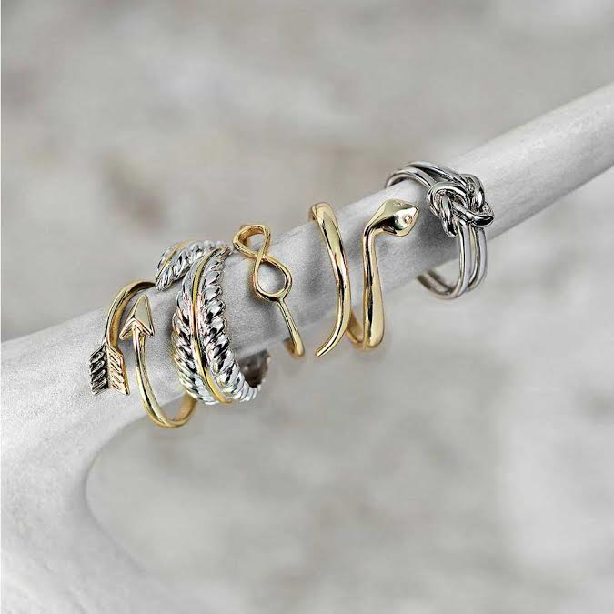 Unity Irish Celtic Knot Infinity Ring Double Band 925 Sterling Silver