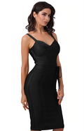 Livia black bandage dress