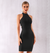 Audrey blackbandage dress