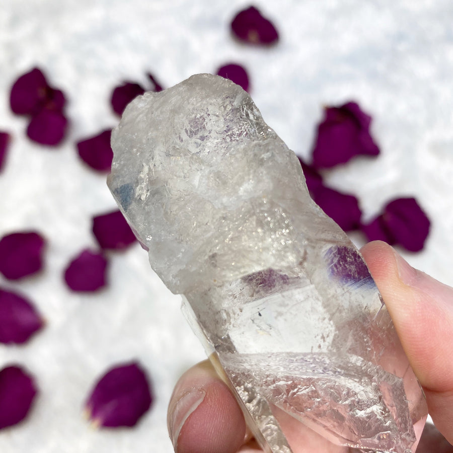 Clear Lemurian Quartz Point