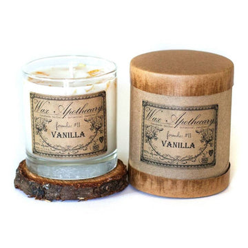 Handmade Vanilla Candle in Reusable Glass Tumbler