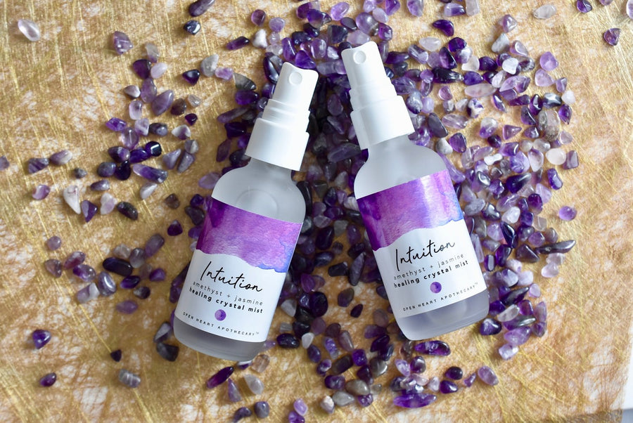 Amethyst Intuition Crystal Mist with Jasmine and Lavender