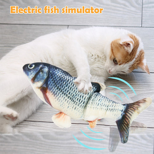 Electronic Fish Cat Toy