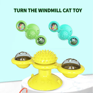 5-in-1 Windmill Cat Toy
