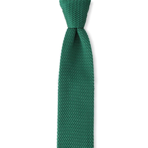 Microfiber Candy Canes Festive Knitted tie