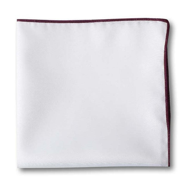 Solid Edged Pocket Square