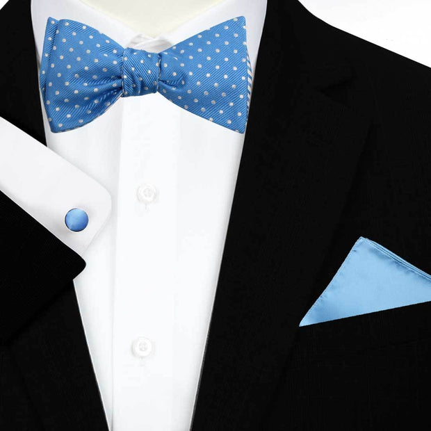 Double Side Self Bow Tie Set