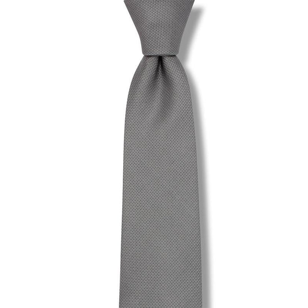 Silk Solid Necktie Men's Ties