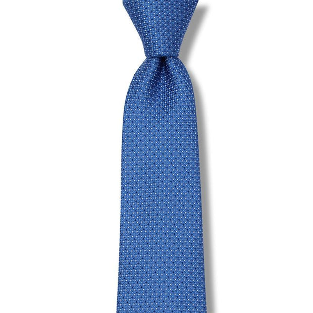 Fantastic Pin Dots Necktie In 100% Silk