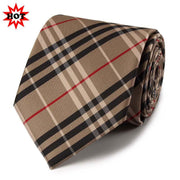 Checked Business Neckties For Formal Event