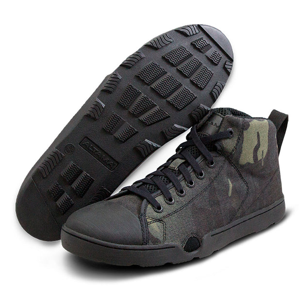 Zapatilla Maritime Assault Mid Black Cam - Altama