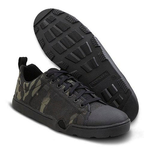 Zapatilla Maritime Assault Low Black Cam - Altama