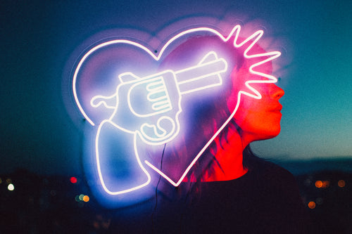 This photographer and tattoo artist designed a killer neon