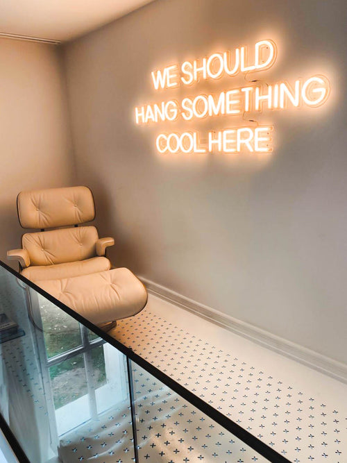 Trending Now: Make your space shine with an LED neon sign