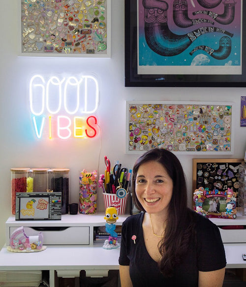 Introducing: Smile Inducing Neon Art by Joanna Behar