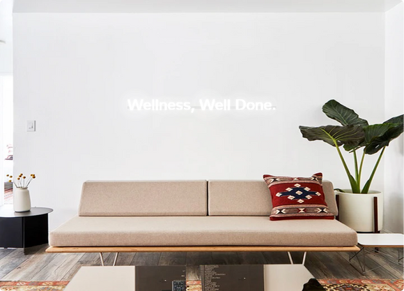 Custom order: Wellness, Well Done.