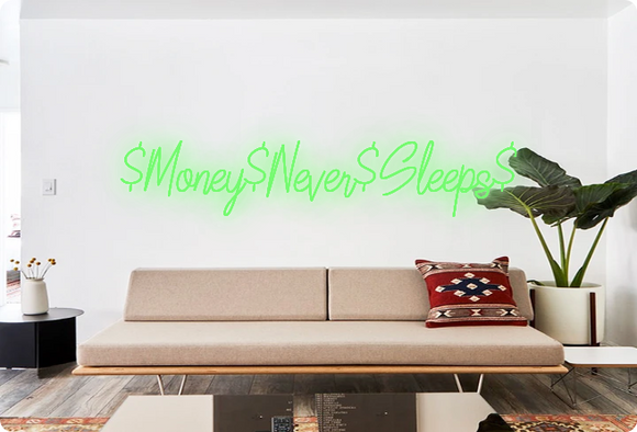 Custom order: $Money$Never$Sleeps$