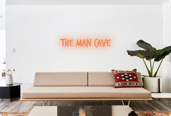 Custom order: THE MAN CAVE
