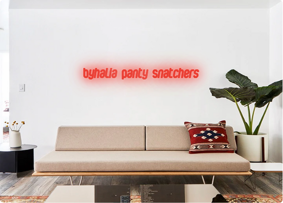 Custom order: Byhalia Panty Snatchers