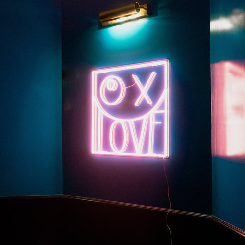 LOVE - LED neon sign by André Saraiva
