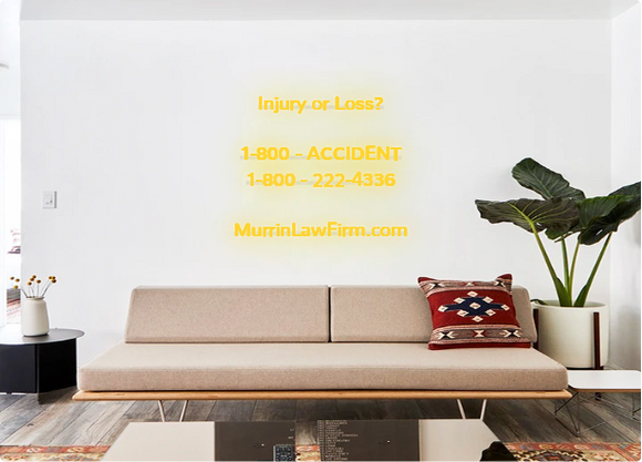 Custom order: Injury or Loss?  1-800 - ACCIDENT 1-800 - 222-4336  MurrinLawFirm.com