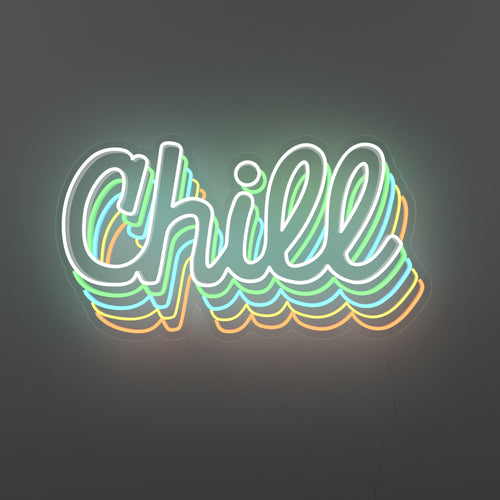 Extra Chill - LED neon sign - yellowpop