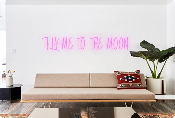 Custom order: FLY ME TO THE MOON