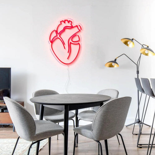 Heart - LED neon sign - yellowpop