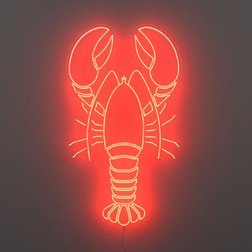 Lobster - LED neon sign