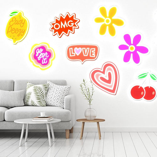Love by Steffi Lynn - LED neon Sign - yellowpop