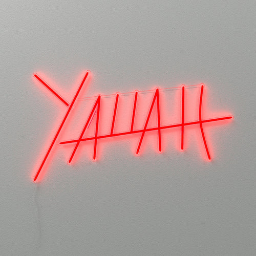 Yallah - LED Neon Sign