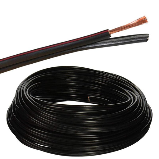 LOGICO 50ft 12 Gauge 2 Conductor Outdoor Direct Burial Landscape Cable