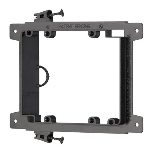 Arlington LVS2 Screw On Double Gang Low Voltage Mounting Bracket