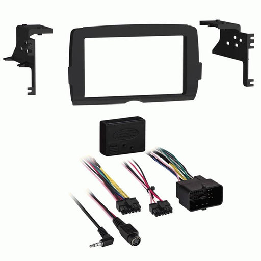 Metra 95-9700 2-DIN Dash Kit for Select Harley-Davidson Motorcycles 2014-Up