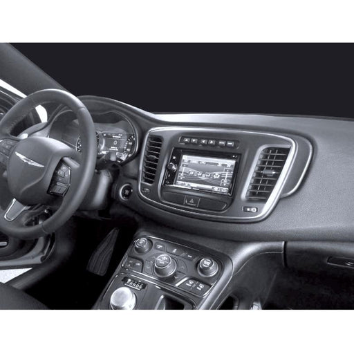 Metra 99-6538B Single or Double DIN Dash Kit for select 2015-2017 Chrysler 200