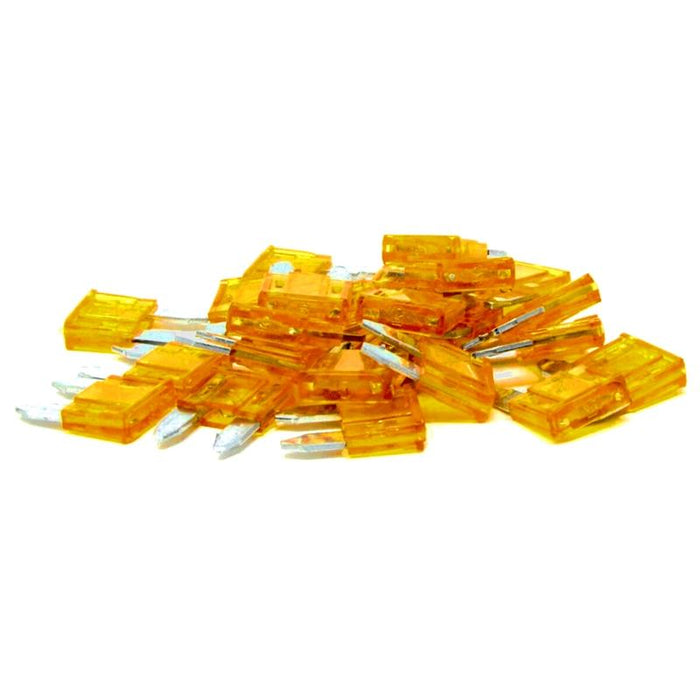 Install Bay ATM5-25 - 5 AMP Mini Blade Style Fuses (Pack of 25)