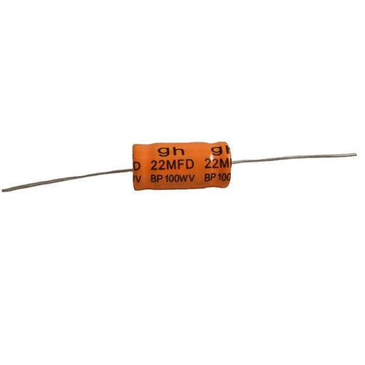 Non-Polarized Electrolytic Audio Capacitor 22MFD 14mm x 25mm