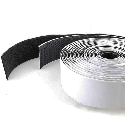 "Hook and Loop Double Side Tape Roll Self Adhesive Sticky Back Fastener 1"" X 10FT"