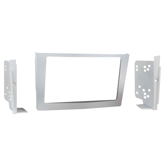 Metra 95-3107S Silver Double DIN Dash Kit for 2008-up Saturn Astra