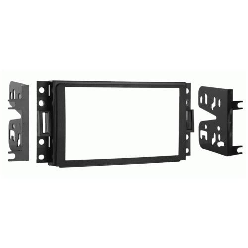 Metra 95-3304 Double DIN Radio Install Dash Kit for 2005-13 Hummer H3