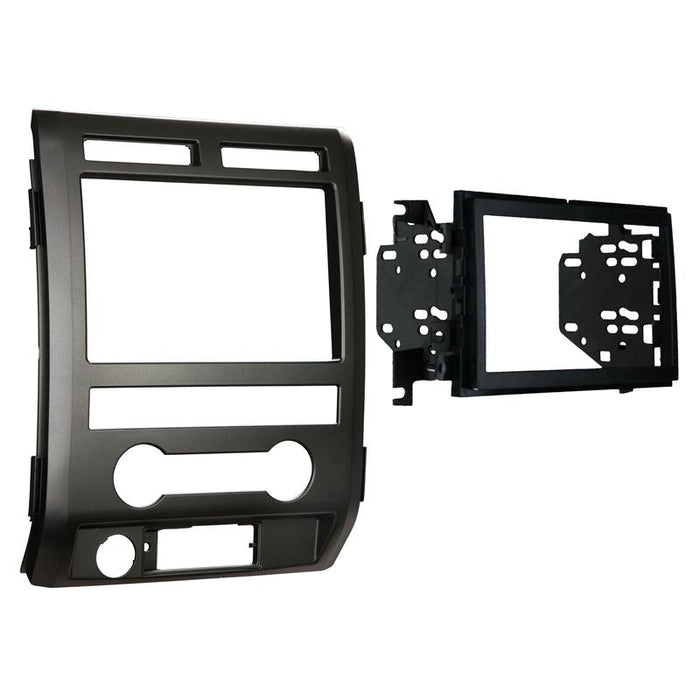 Metra 95-5822B Black Double DIN Dash Kit for Select 2009-2010 Ford