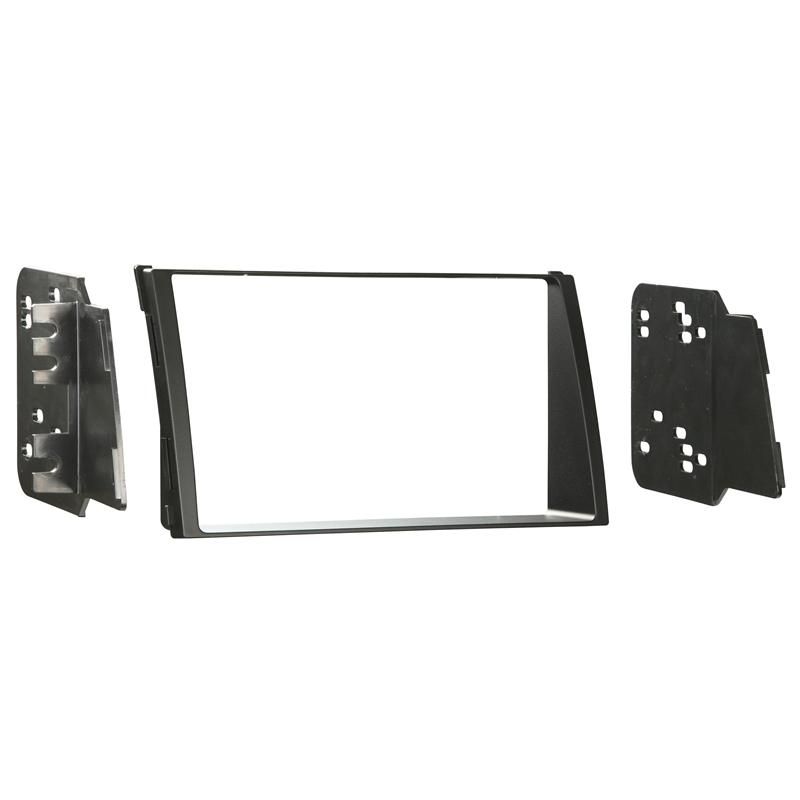 Metra 95-7337B Matte Black Double DIN Dash Kit for 2010-2011 Kia Soul