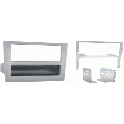 Metra 99-3107S Silver Single DIN Stereo Dash Kit for 2008 Saturn Astra