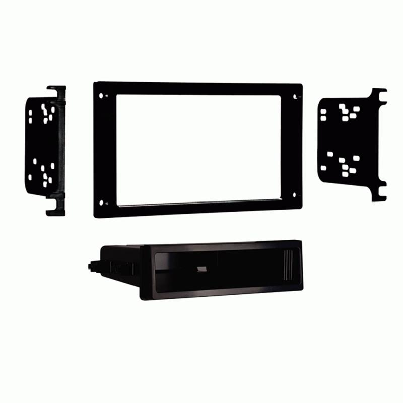 Metra 99-5025 2-Shaft to Single DIN Dash Kit for 1987-93 Ford Mustang