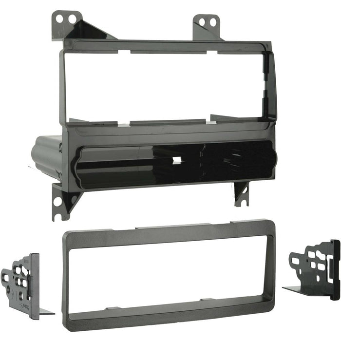 Metra 99-7326 Single DIN Dash Kit for Select 2007-2010 Hyundai Elantra
