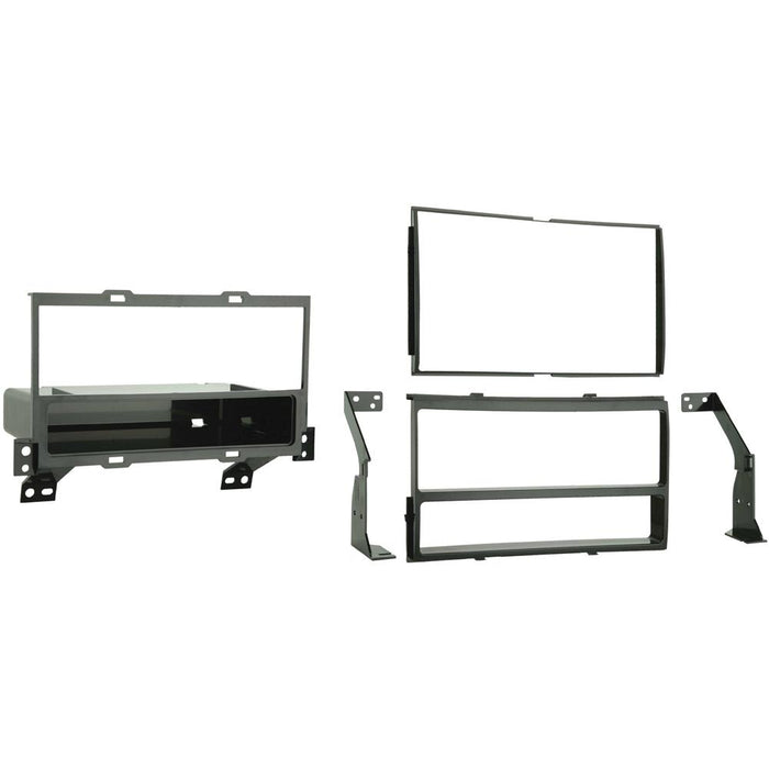 Metra 99-7422 Single/Double DIN Dash Kit for 2007-2012 Nissan Sentra